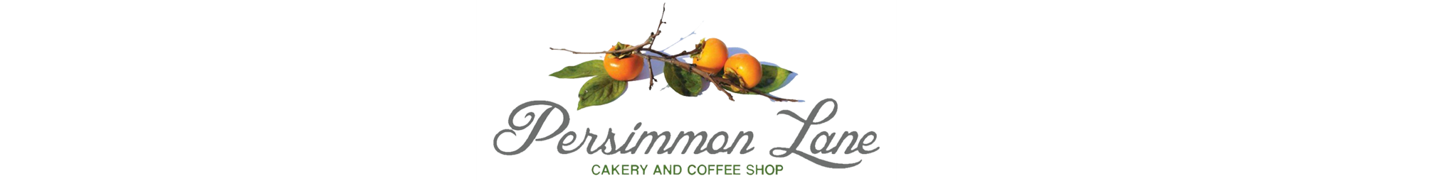 Persimmon Lane Cakery and Coffee Shop - Header Image